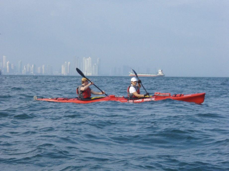 sea kayaking at Coastway Amador | Red Bull Rappel | team building